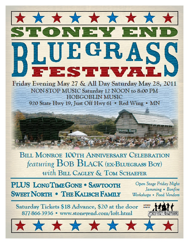 Stoney End Bluegrass Festival 2010